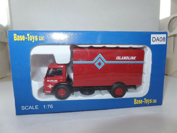 B T Models DA-08 DA08 Ford D Series Box Van BRS Islandlink Isle Wight